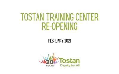 The Tostan Training Center has opened again!