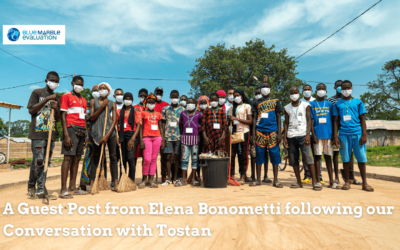 Blog post with Elena Bonometti following Tostan's conversation with Blue Marble Evaluation