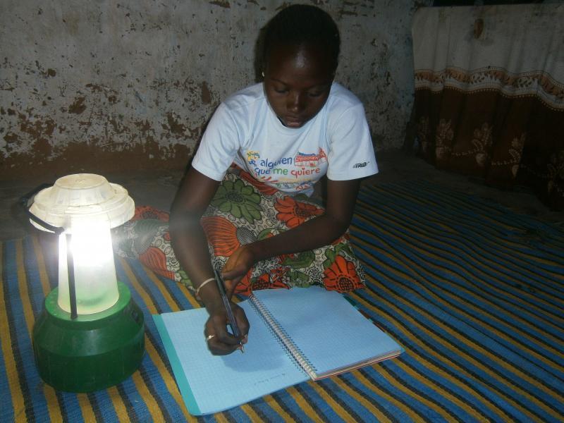 Un progrès à énergie solaire: Reportage Photo